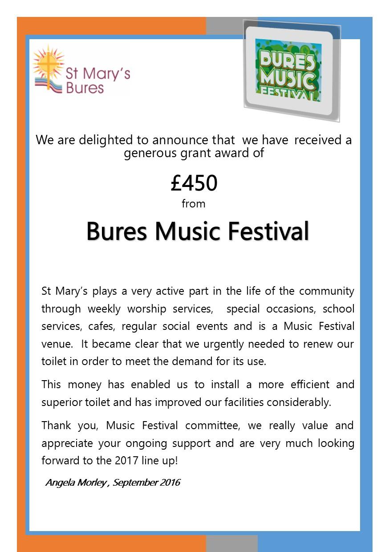 Music Festival Award